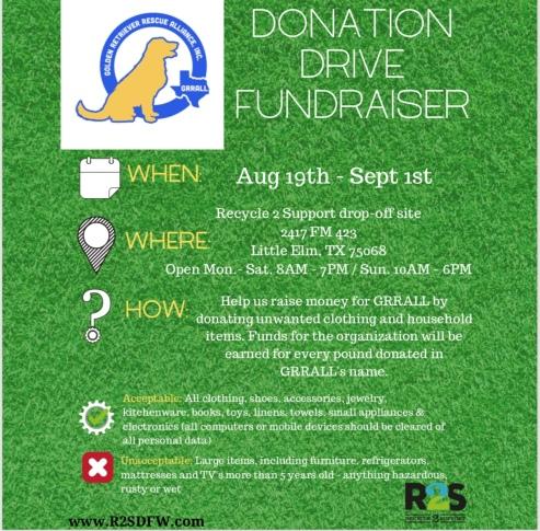 r2s fundraiser